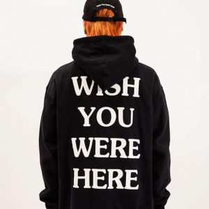 EMBROIDERED ASTROWORLD 'WISH YOU WERE HERE' Hoodie