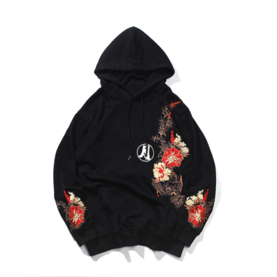 Embroidered Rabbit Hoodie