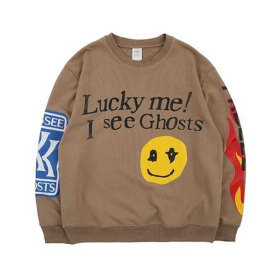 Kanye West LUCKY ME I SEE GHOSTS Sweatshirt