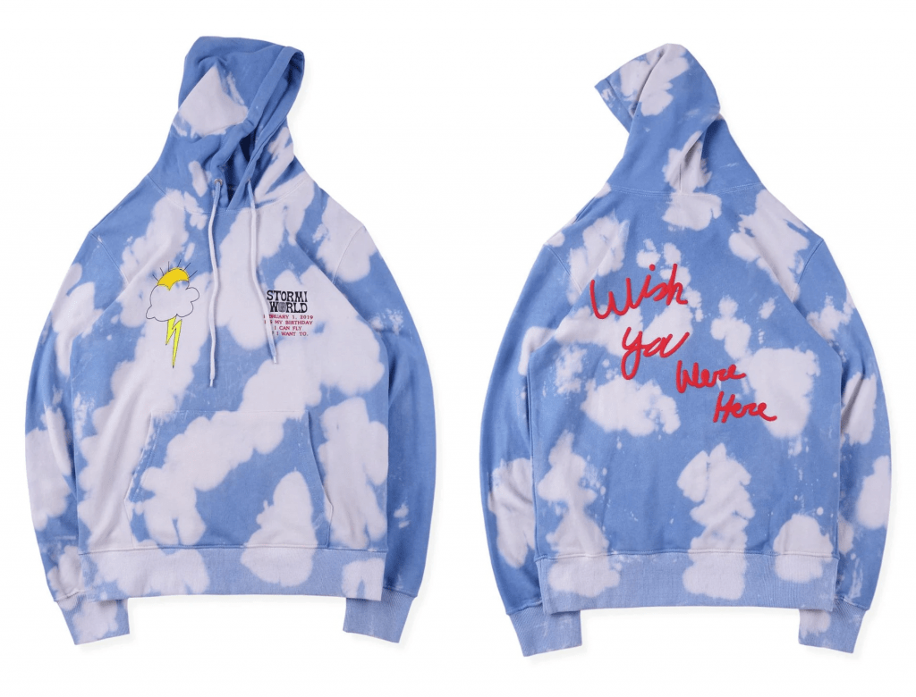 Stormi World Hoodie front & back