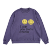 i like you you're different sweatshirt