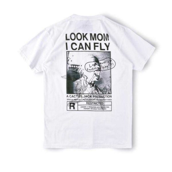 Travis-Scott-Astroworld-Look-Mom-I-Can-Fly-Shirt-White